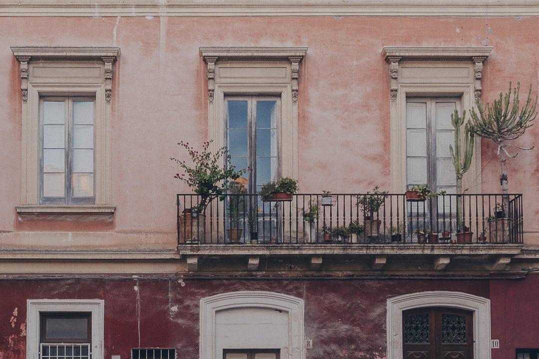 Balcons de Lecce - Les Pouilles, Italie