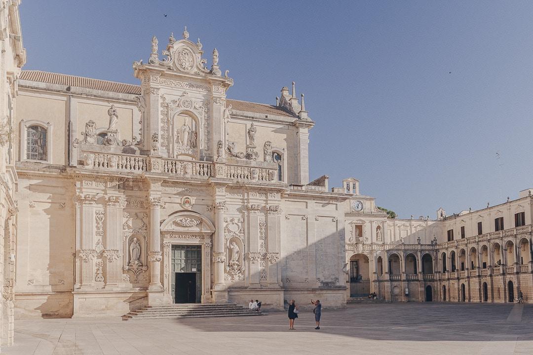 le Duomo de Lecce - Les Pouilles, Italie