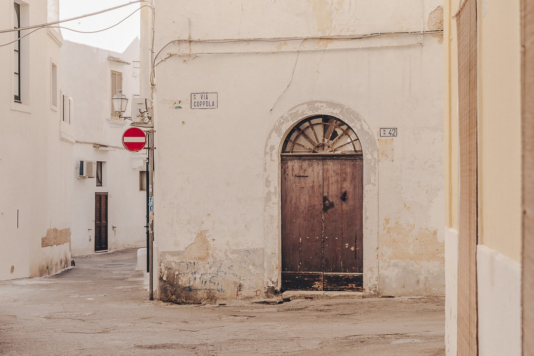Via Coppola - Gallipoli - Les Pouilles, Italie