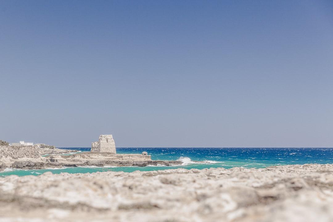 Superbe côte adriatique dans les Pouilles - Italie