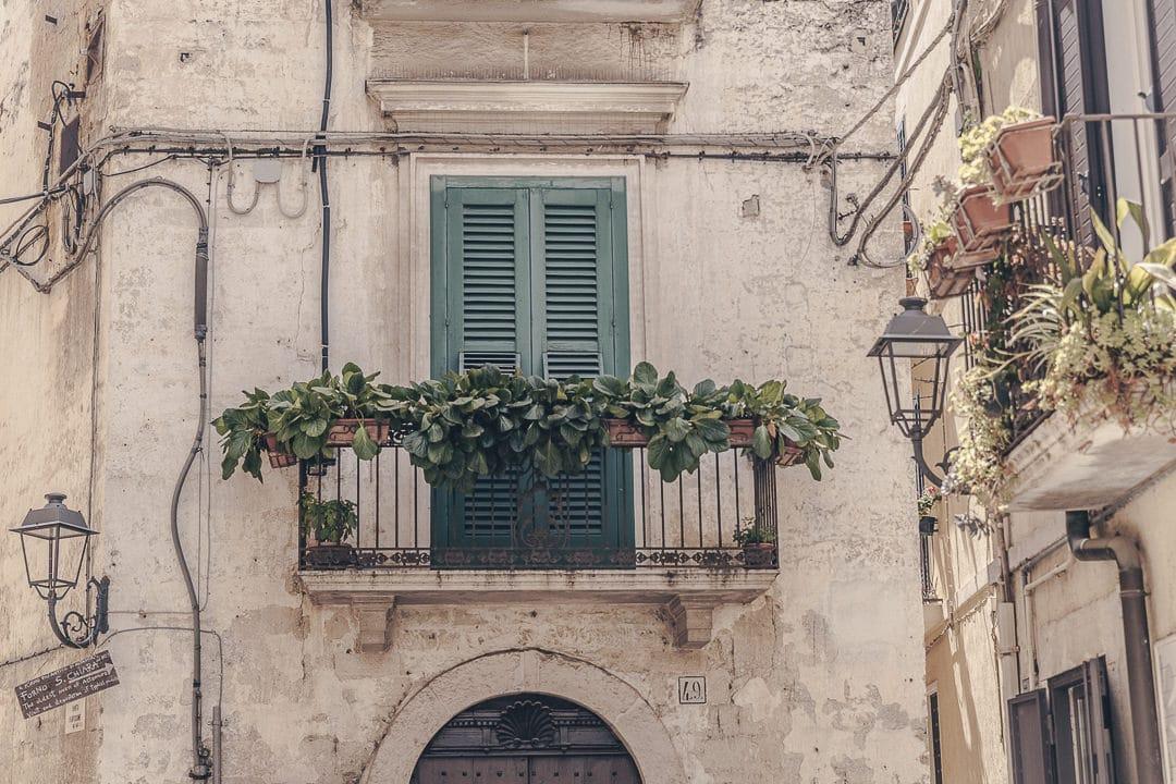 Balcon Altamura - Le Pouilles, Italie