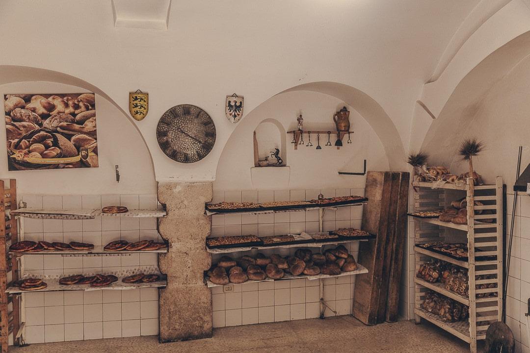 Boulangerie Altamura - Les Pouilles, Italie