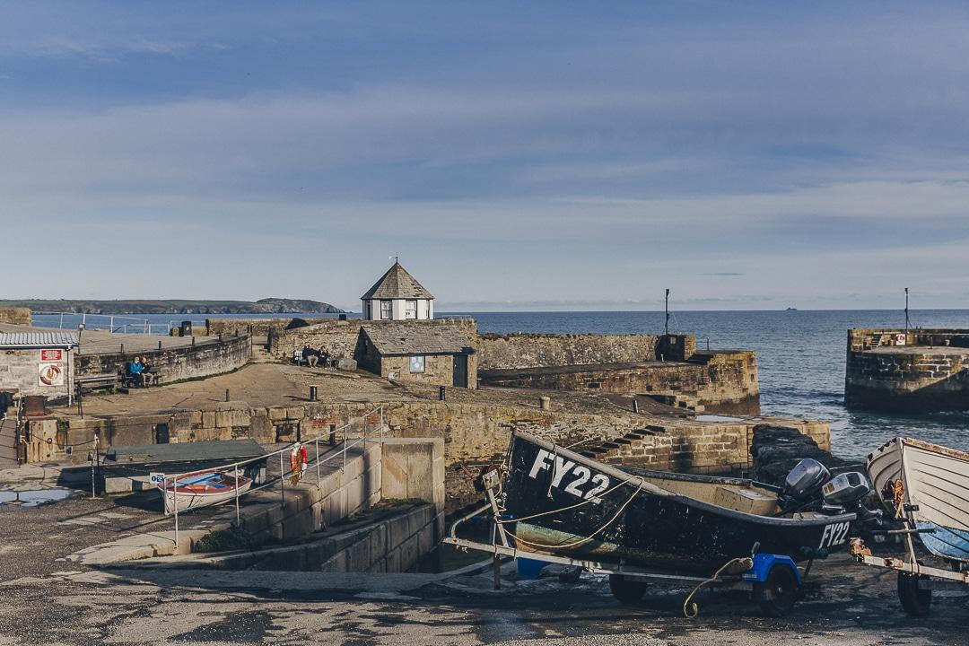 Voyage en Cornouailles, Angleterre - le port du village de Chalestown #lovecornwall #VisitBritain