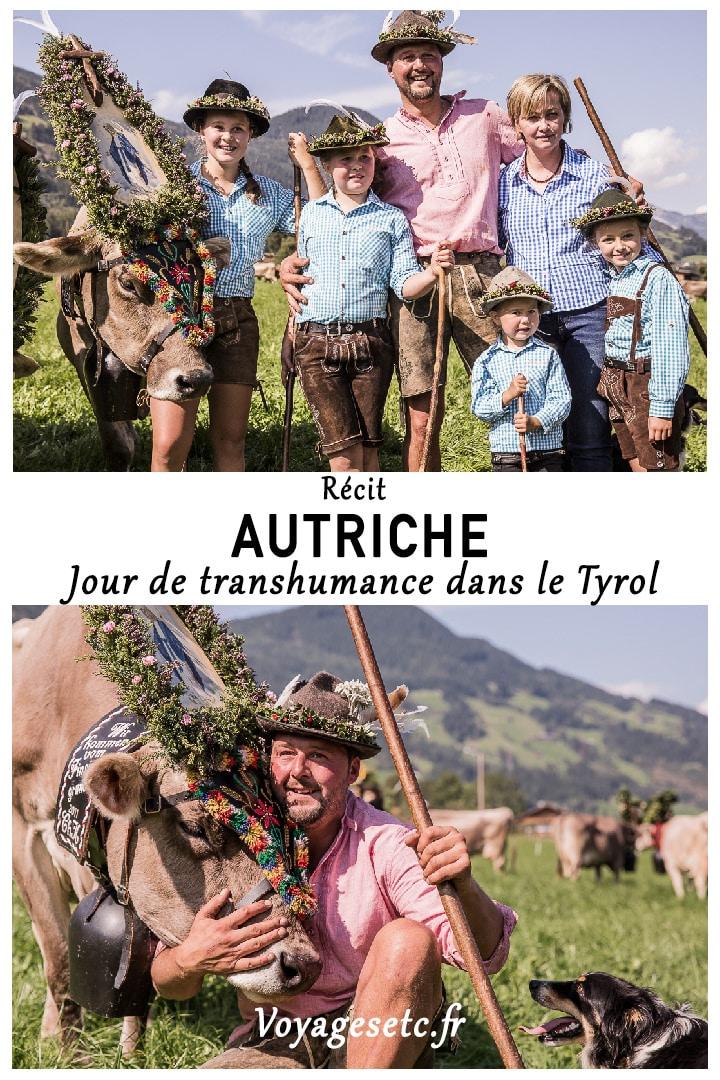 Fête de la transhumance dans le Tyrol, une fête familiale et traditionnelle
