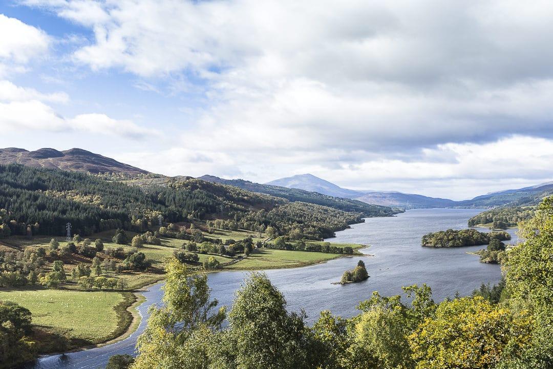 Queen's view sur le Loch Tummel en Ecosse #visitscotland #ecosse