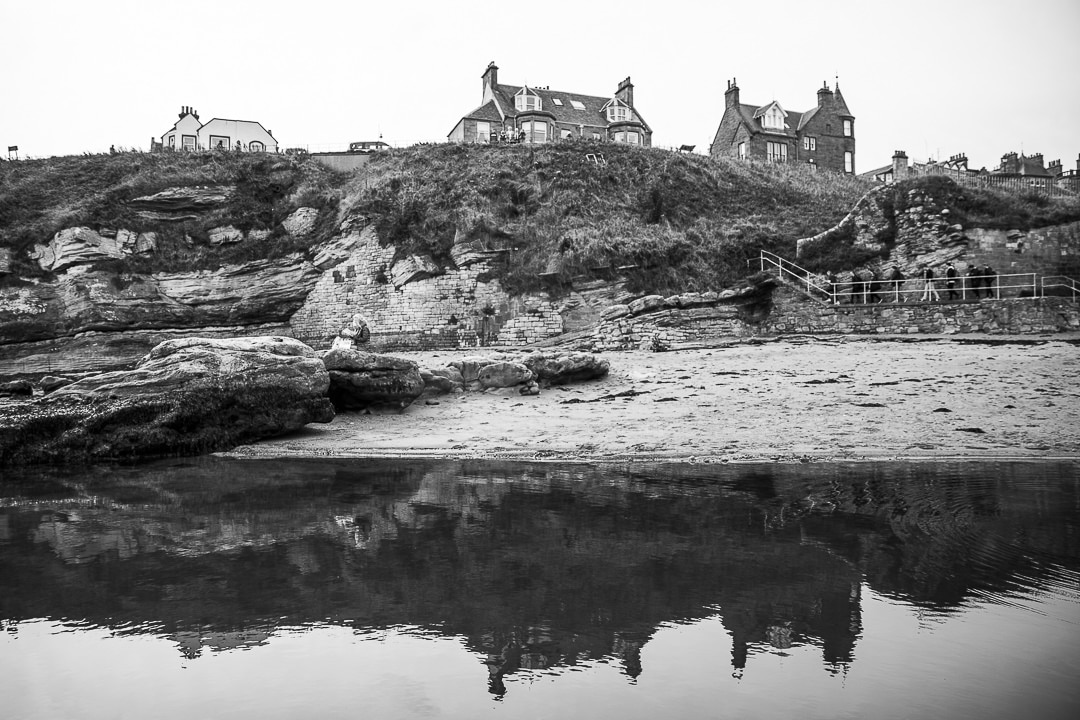 Bord de mer à Saint Andrews #ecosse #visitscotland