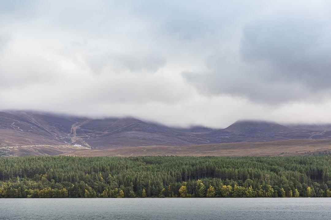 Cairngorm moutains sous les nuages #ecosse #visitscotalnd #cairngorm