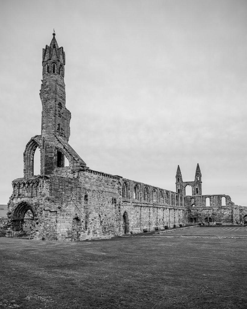 Ruines de la cathédrale de Saint Andrews #visitscotland #ecosse