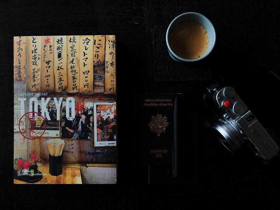 Livre Ticket to Tokyo de Gaspard Walter. A lire et à offrir ! #japon #tokyo