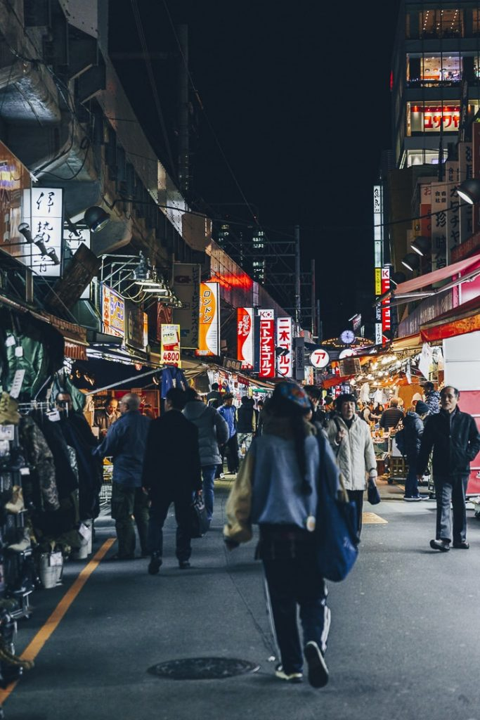 Ameyayokocho, des néons et des hommes #tokyo #japon #Asie
