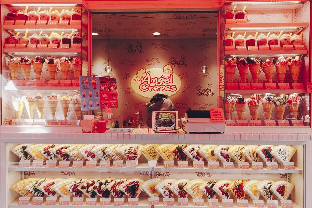 Barbapapa, crêpes, glaces, on ne peut pas mourir de faim sur Takeshita street à Tokyo ! #japon #tokyo #asie