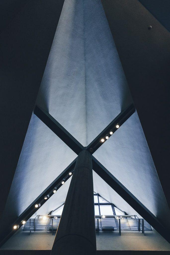 Architecture Lecorbusier du musée des arts occidentaux situé dans le parc Uneo à Tokyo #japon #asie