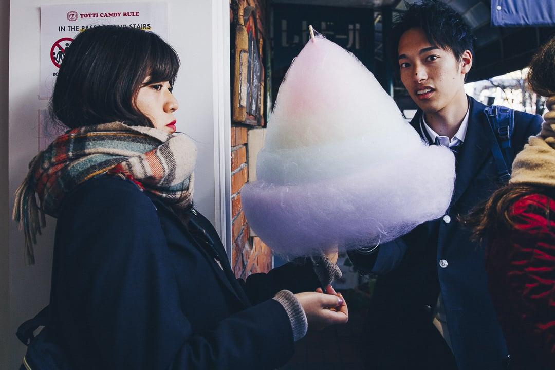 La barbapapa de la Totti Candy Factory de Takeshita street à Tokyo, un incontournable #harajuku #tokyo #japon