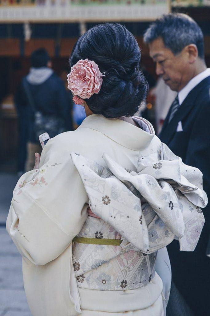 Jour de mariage au Meiji-Jingu à Tokyo. LEs kimonos sont sublimes #visittokyo #visitjapan
