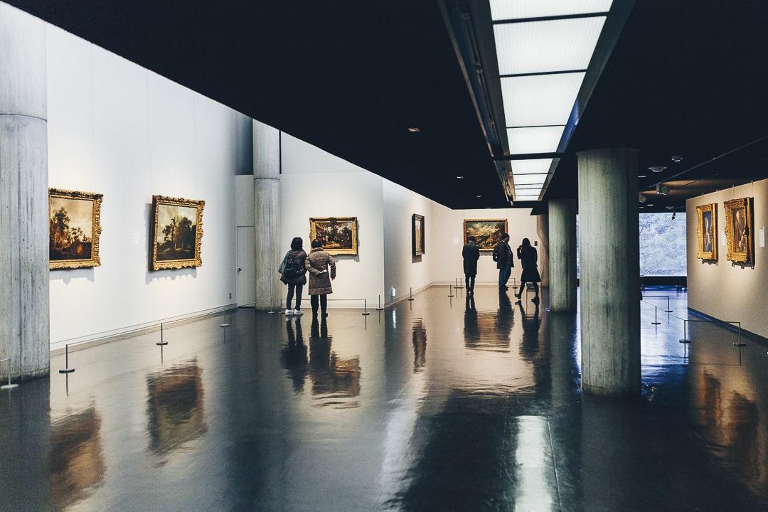 Intérieur du musée des arts occidentaux à Tokyo #japon #tokyo