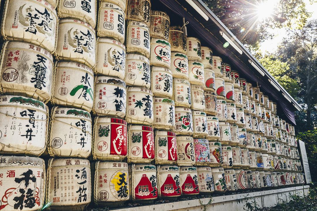 Offrandes de sake au temple Meiji-Jingu à Tokyo #visittokyo #visitjapan