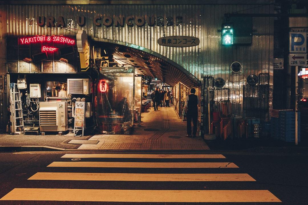 Passage sous les rails de Yurakucho, Tokyo #japon #asie