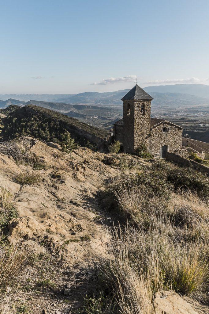 Eglise romane du village de Santa Engracia dans les terres de Lleida en Catalogne #macatalogne #catalogne #tremp