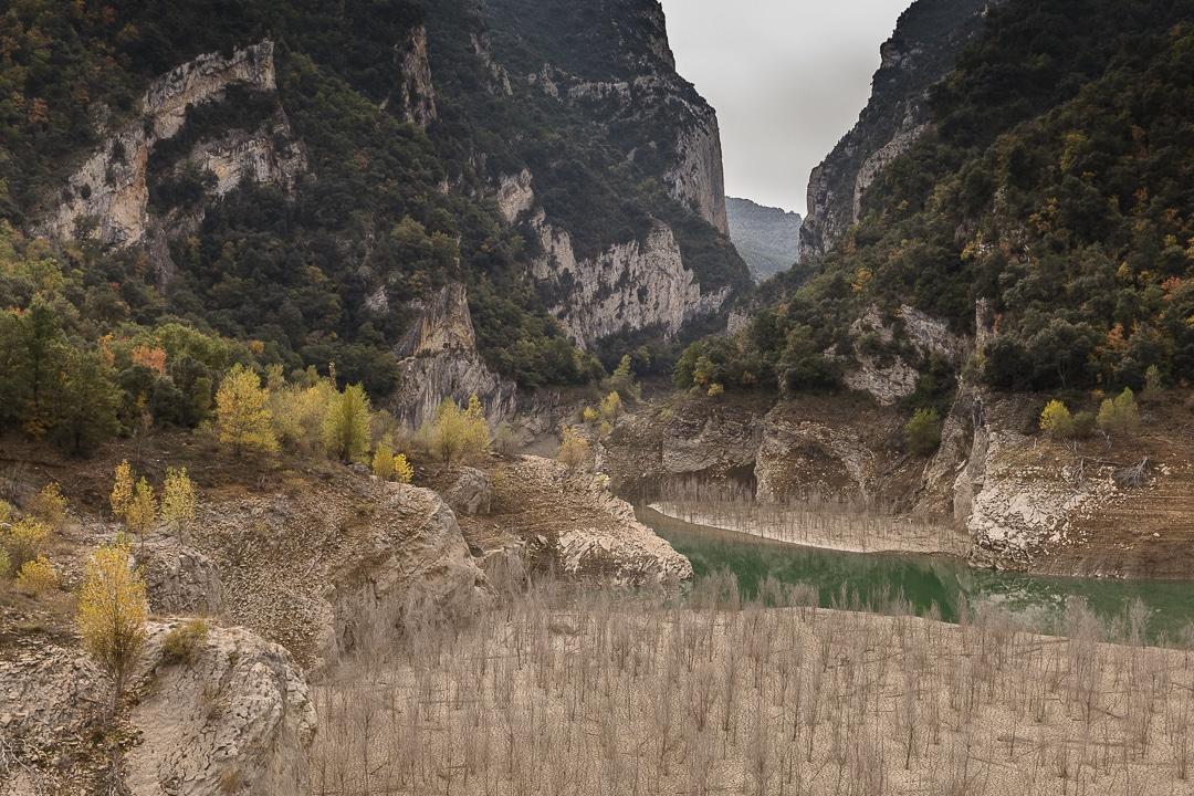 Entrée des gorges du Mont Rebei en Catalogne #macatalogne #catalogne