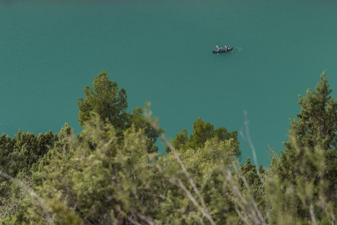 Canoë dans les gorges du Mont Rebei #catalogne #macatalogne