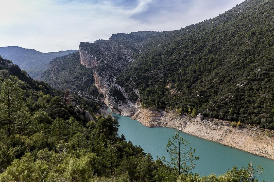 les eaux vertes des gorges du Mont Rebei #catalogne #macatalogne