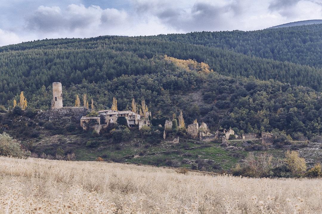 Village abandonné aux portes des gorges du Mont Rebei en Catalogne #catalogne #macatalogne