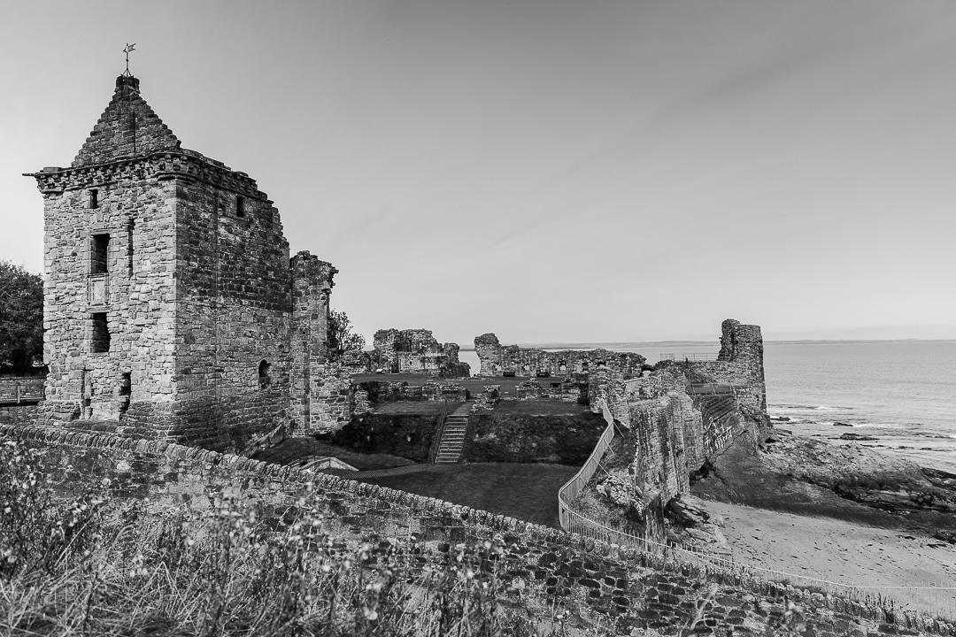Le chateau de Saint Adrews, Ecosse #scotland #ecosse #scotspirit