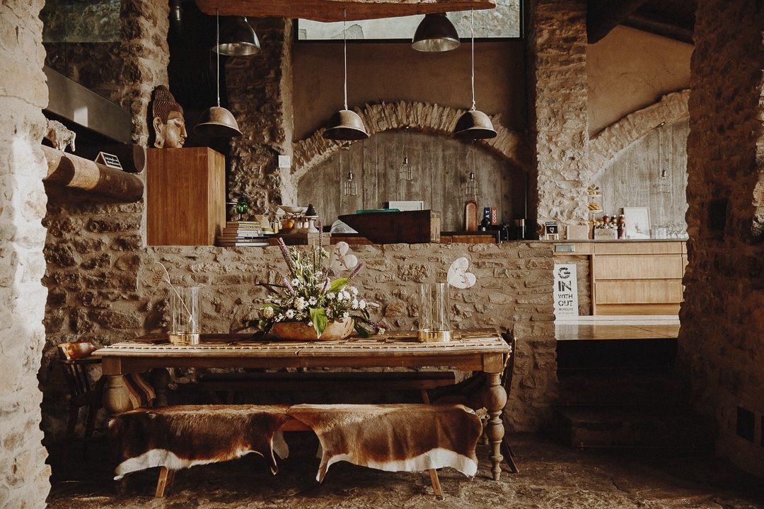 Intérieur de la chambre d'hôte Casa Guilla, The fox House - Santa Engracia, Catalogne #roadtrip #catalogne