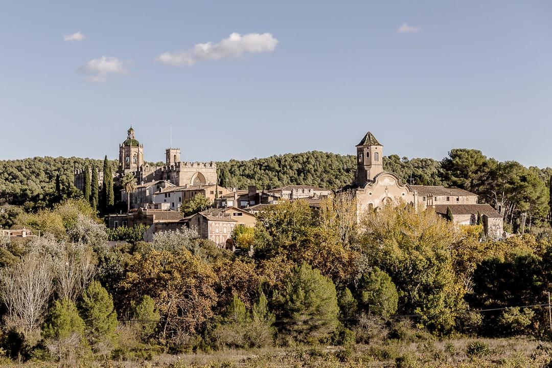 Vue d'ensemble sur le monastère de Santes Creus #catalogne #rutadelcister #roadtrip