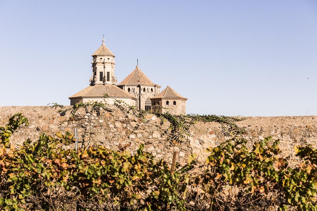 Monastère de Poblet vu de l'extérieur de l'enceinte #poblet #unesco #catalogne