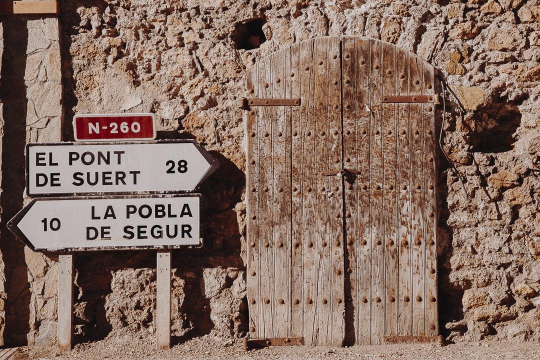 Senterada, Terres de Lleida, Catalogne #roadtrip #catalogne