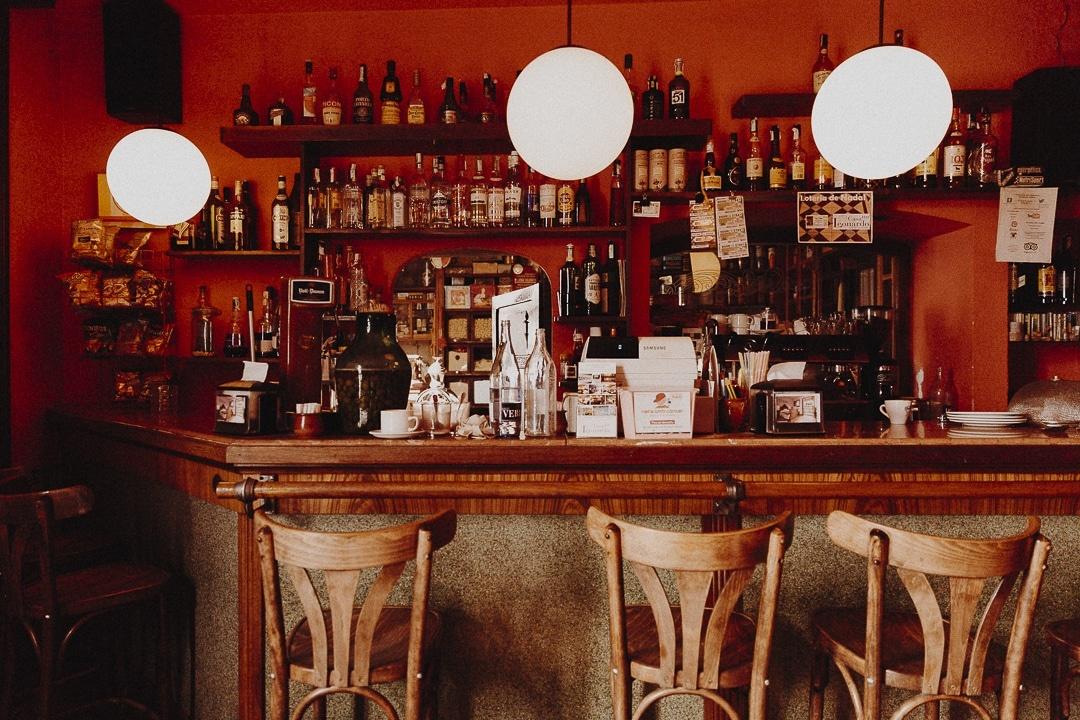 Bar de la casa Leonardo à Senterada, Catalogne #roadtrip #catalogne