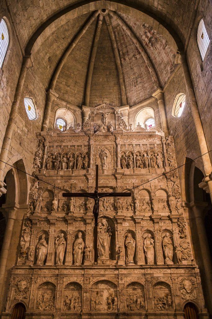 Retable de l'église du monastère de Poblet #castalogne #rutadelcister #roadtrip