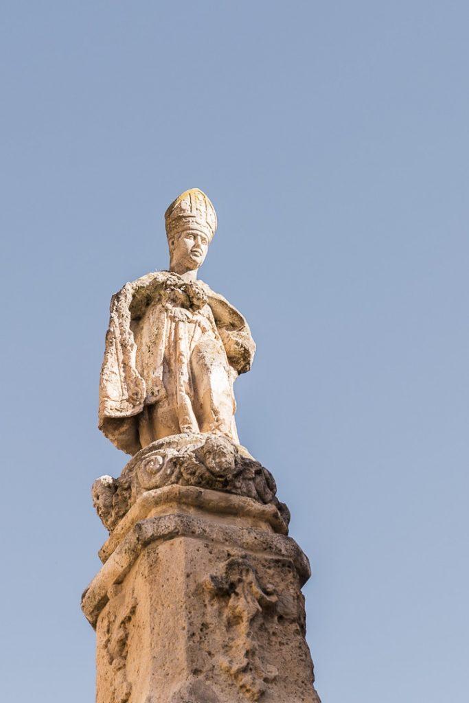 Statue du monastère de Santes Creus #rutadelcister #catalogne #roadtrip