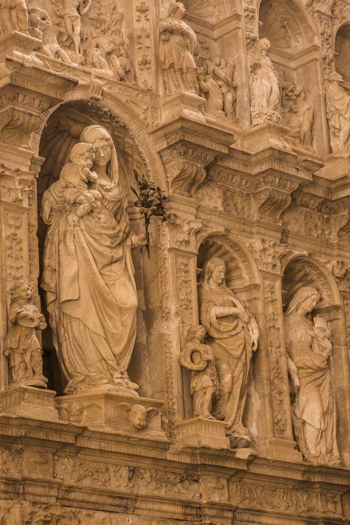 Retable de l'Eglise du monastère de Poblet #rutadelcister #catalogne #roadtrip