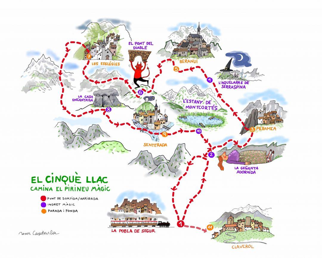 Le 5ème lac, une randonnée de 5 jours montée par des acteurs locaux de Senterada pour promouvoir leur territoire et leurs savoir-faire