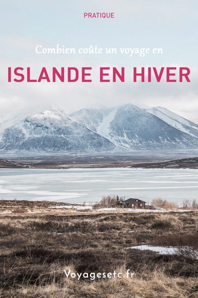 Combien coute un voyage en Islande en Hiver ? Revue détaillée sur la base d'un voyage pour 2 personnes avec location de voiture et nuits en auberges #budget #islande #hiver