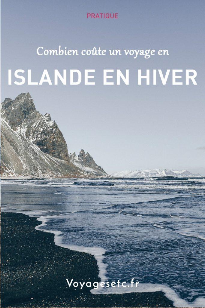 Combien coûte un voyage en Islande en Hiver ? Revue détaillée sur la base d'un voyage pour 2 personnes avec location de voiture et nuits en auberges #budget #islande #hiver
