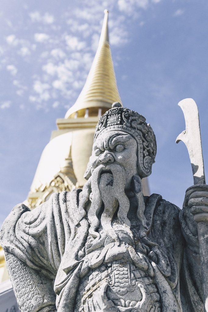 Figure du grand Palais de Bangkok #bangkok thailande