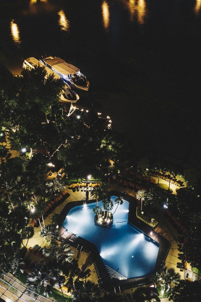 le Shangri-La est un hôtel de Bangkok qui offre une vue sublime sur le Chao Phraya #bangkok #thaïlande
