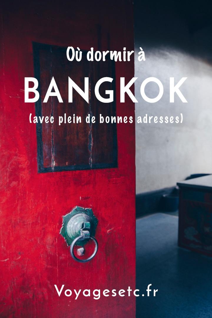 Savoir où se dormir à Bangkok est un vrai casse-tête. Dans cet article, je vous donne toutes mes recommandations par quartier. Du vieux Bangkok aux quartiers modernes en passant par China town, je vous propose de nombreuses adresses avec différents critères de prix.
