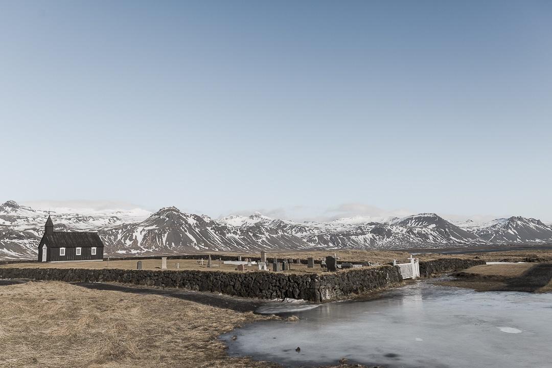Où dormir sur la péninsule de Snæfellsnes - Eglise de Bodir