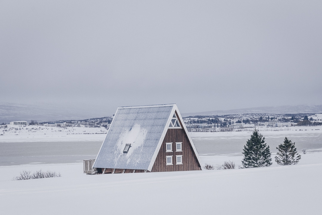 Ou dormir pas cher en Islande ? Pourquoi pas un petit chalet à Egilsstadir #islande #egilsstadir