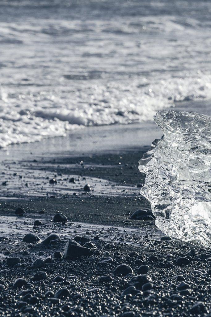 Diamond Beach, Islande #island #diamondbeach
