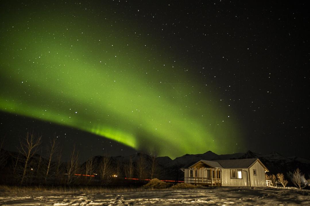 Où dormir pas cher en islande à Höfn #islande #hiver #höfn