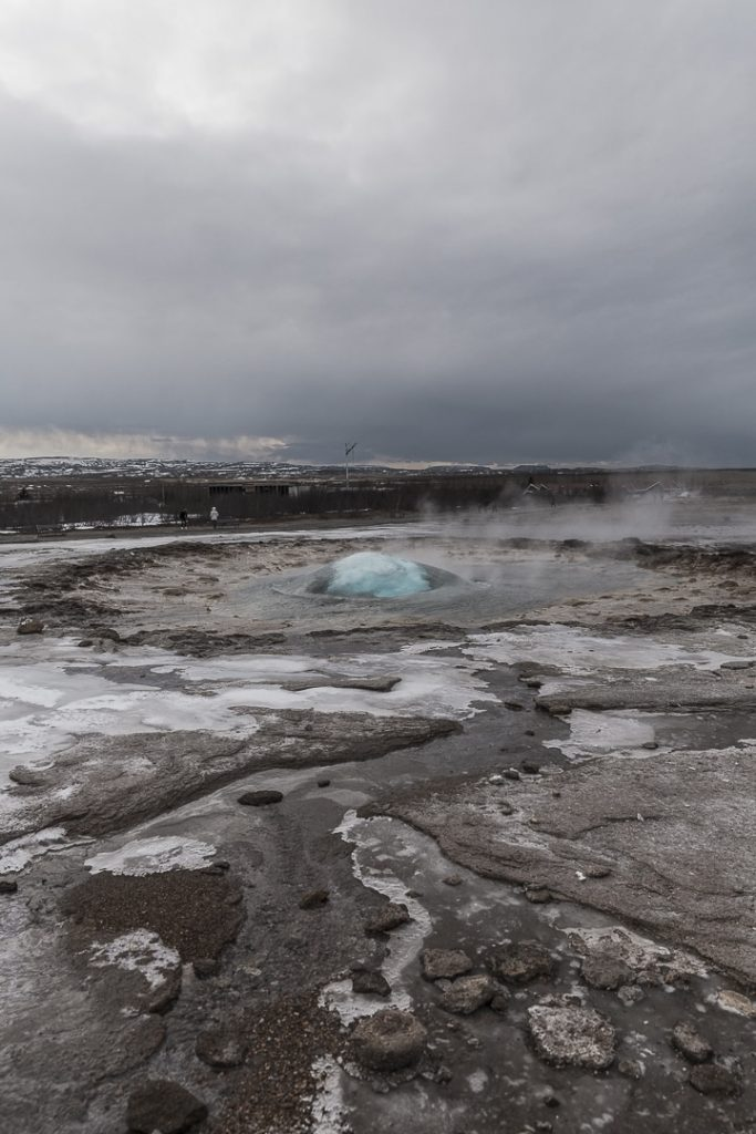 Geysir, un incontournable du cercle d'or en Islande #islande #cercledor