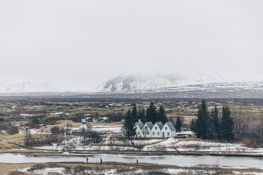 Parc national de Pingvellir dans le cercle d'or en Islande #islande #cercledor