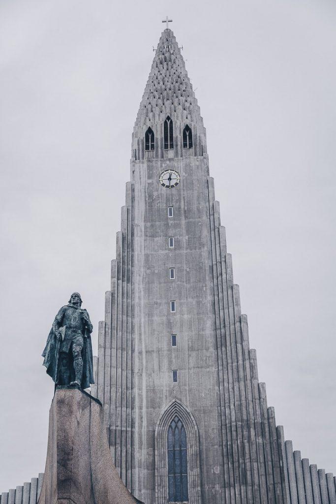 Eglise Hallgrimskirkja de Reykjavik #islande #reykjavik
