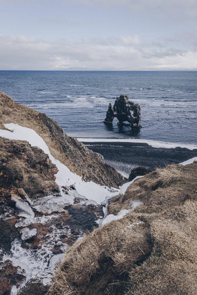 Road trip en Islande - Hvitserkur péninsule de Vatnsnes #islande #Hvitserkur #vatnsnes