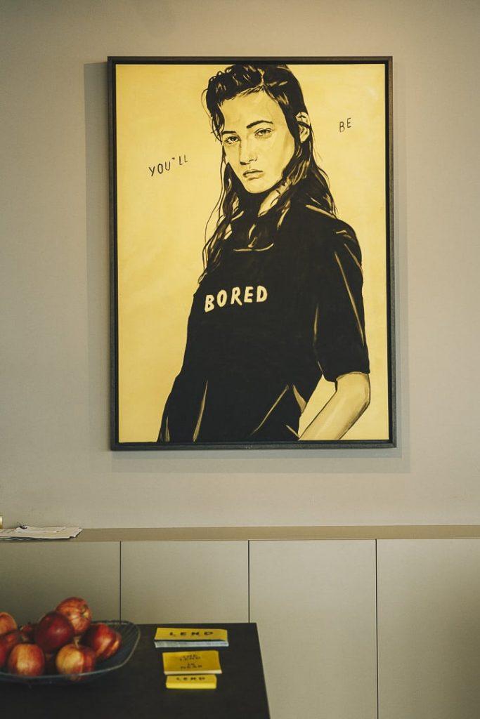 Art contemporain au Lend Hotel à Graz - autriche
